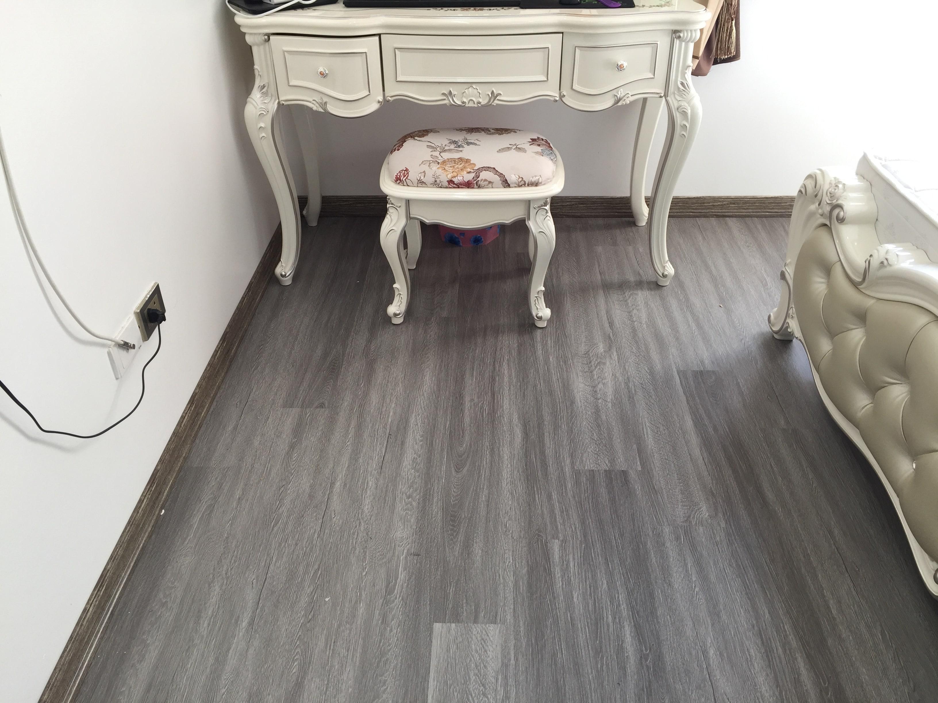Công trình sàn nhưa căn hộ nhỏ 2
