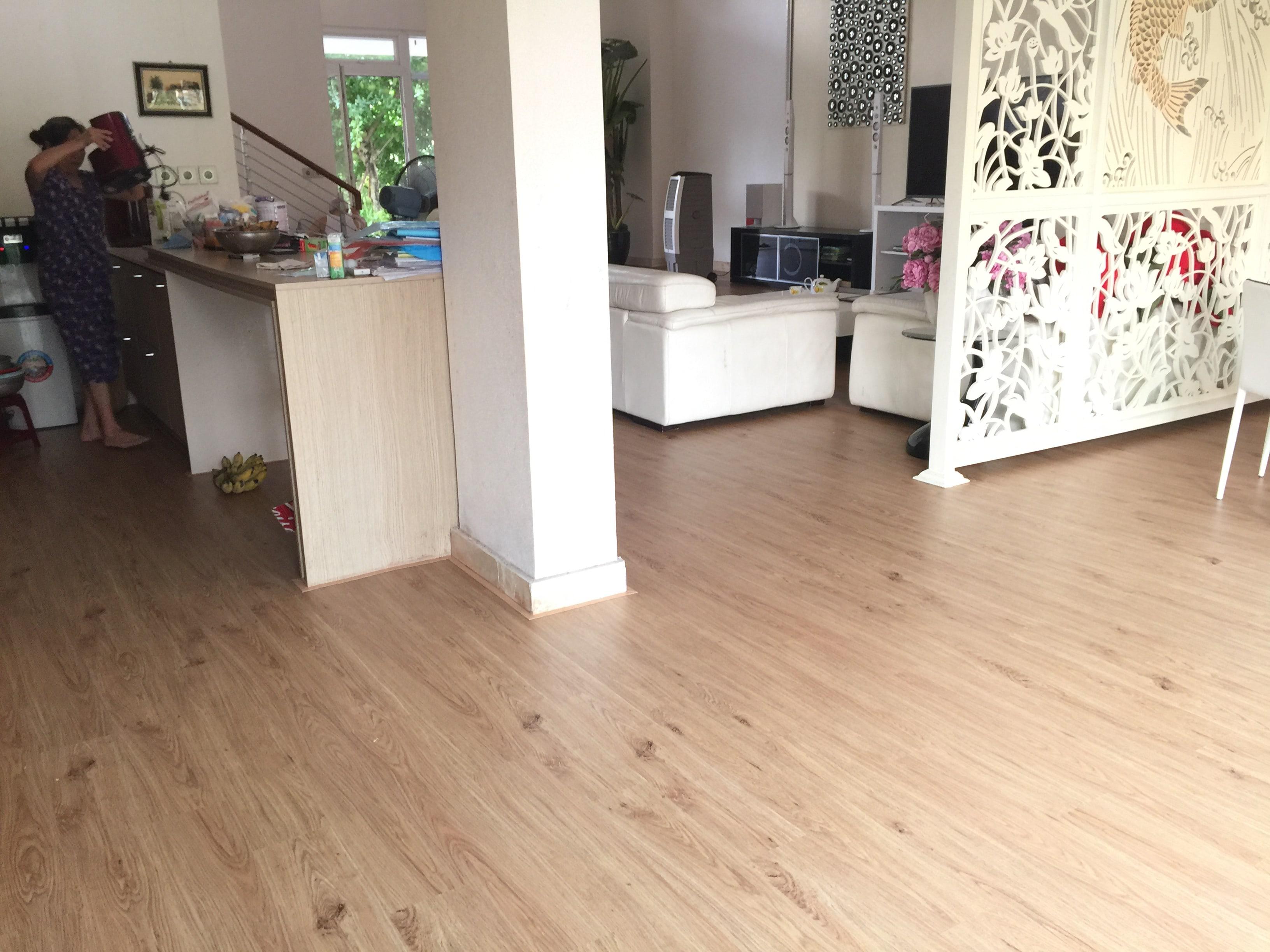 Công trình sàn nhưa biệt thự CIPUTRA 5