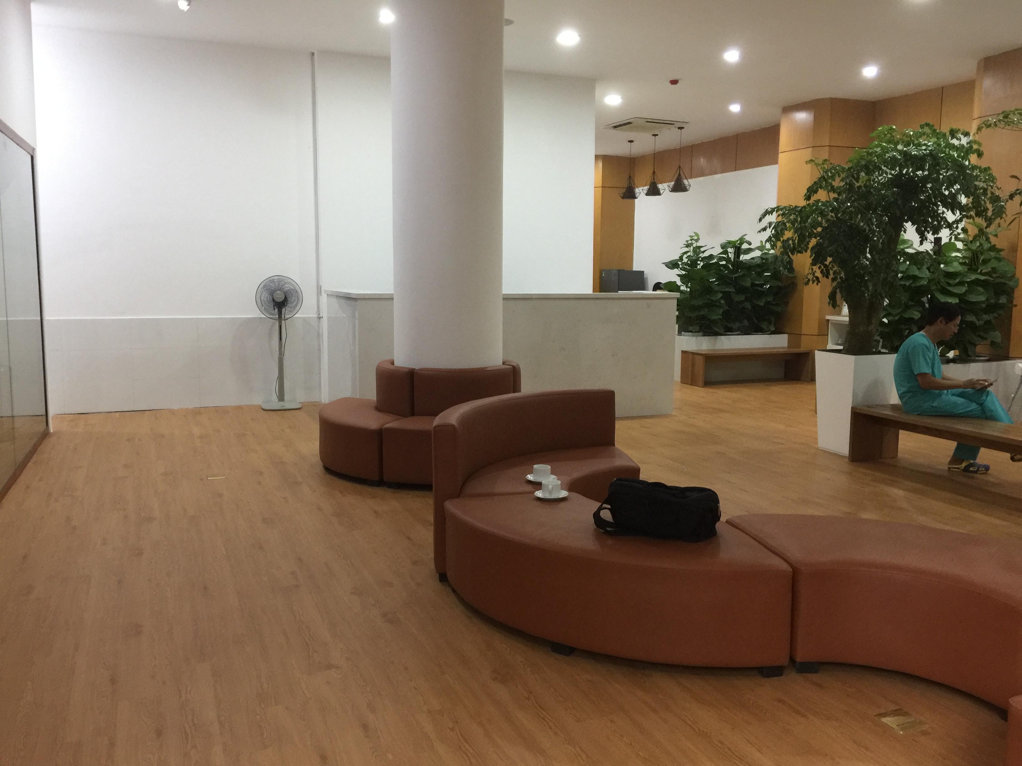Công trình sàn nhựa | Phòng khám nha khoa
