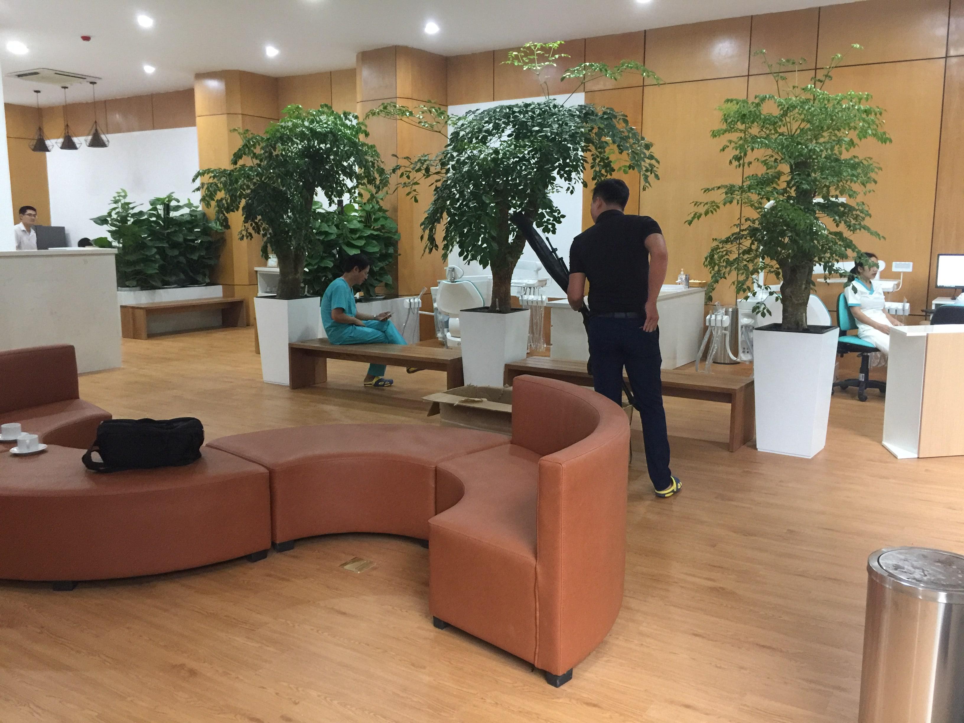 Công trình sàn nhựa | Phòng khám nha khoa 2