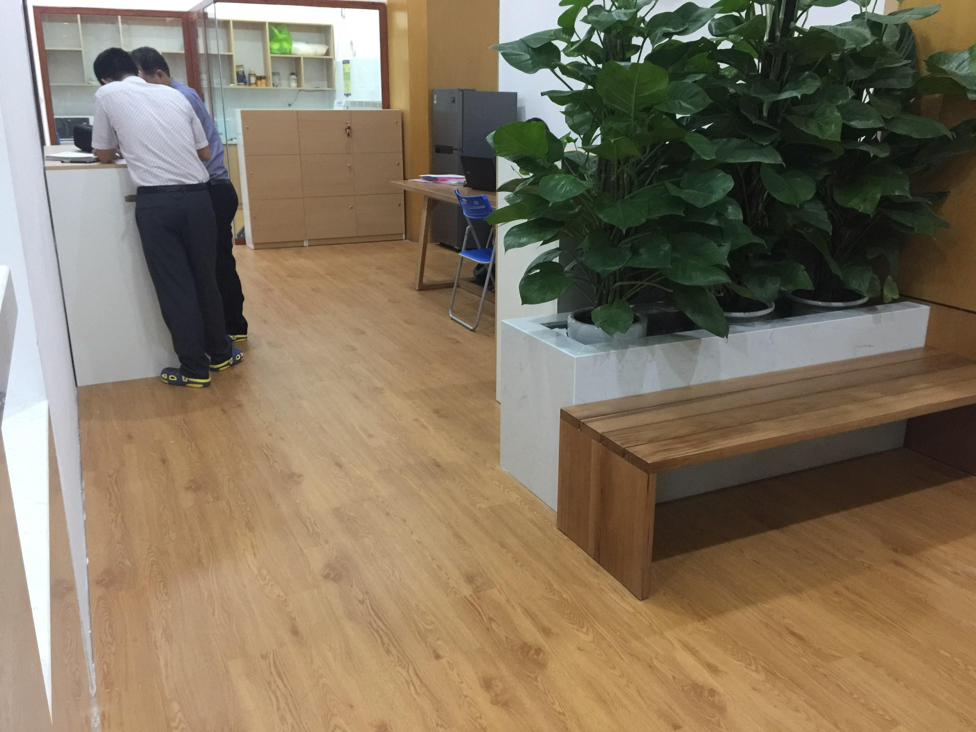 Công trình sàn nhựa | Phòng khám nha khoa 5
