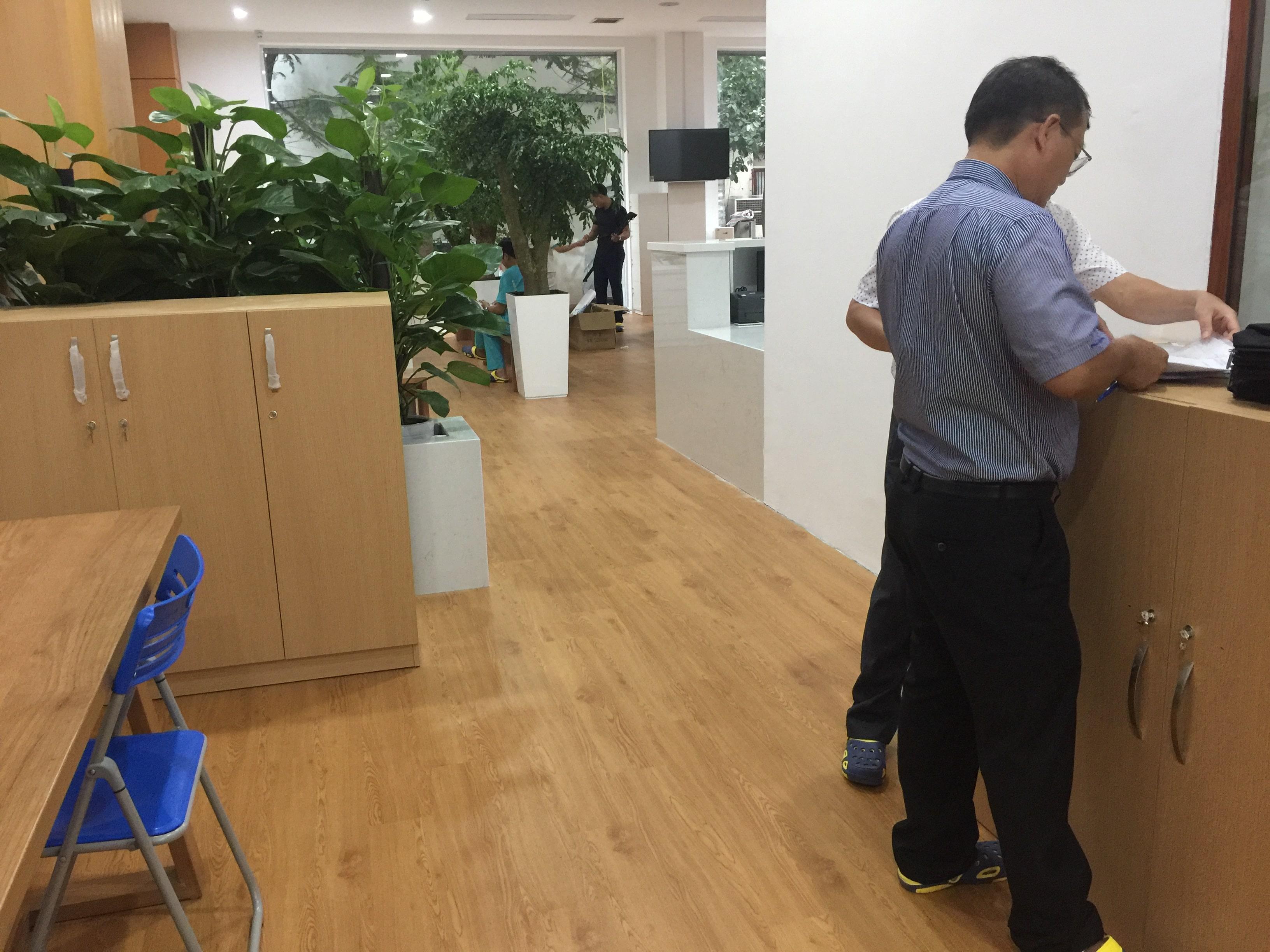 Công trình sàn nhựa | Phòng khám nha khoa 7