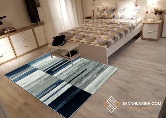 Thảm trải sàn mang lại vẻ đẹp cho không gian
