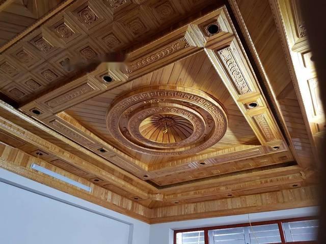 gỗ ốp trần