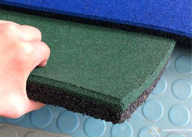 Sàn cao su dạng tấm